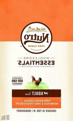 Nutro Wholesome Essentials Adult Dry Dog Food - Chicken Brow