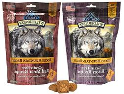 Blue Buffalo Wilderness Rocky Mountain Recipe Dog Treat Vari