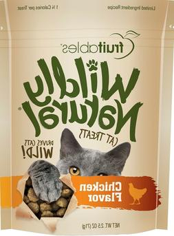 Fruitables Wildly Natural Chicken Cat Treats +FREE Gift