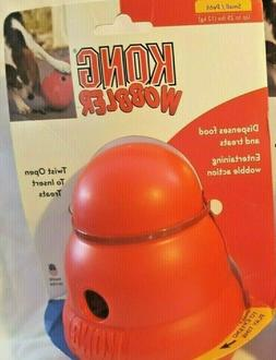 Kong Wobbler Dog Treat Food Dispenser Toy : Small Pets Up to